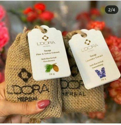 صابون کاج و مریم گلی لدورا - ایران دایرکت