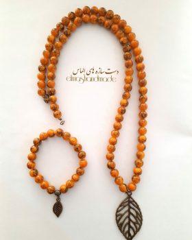 ست گردنبند و دستبند پاییزی - ایران دایرکت