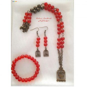 ست کامل گردنبند گوشواره دستبند کد 31038 - ایران دایرکت